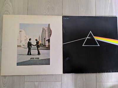 Disque Vinyle Pink Floyd Dark side of the moon & Wish you were here Vinyl Record