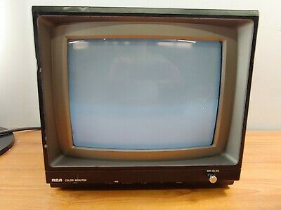 "RCA 13"" Color Monitor Model TC5510AU with BNC Input"