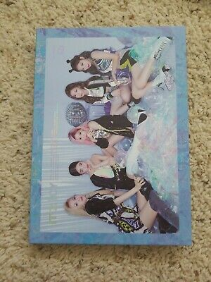 ITZY IT'Z ICY ALBUM - Lia Second Page (ICY version) (No photocard)