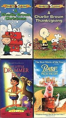 A Charlie Brown Christmas Vhs.A Charlie Brown Thanksgiving And A Charlie Brown Christmas
