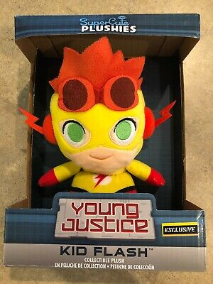 Funko DC Comics Young Justice Kid Flash Hot Topic Exclusive Super Cute Plushies!