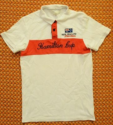 Hamilton Cup New Zealand Polo Team, Mens Shirt, Size - Large