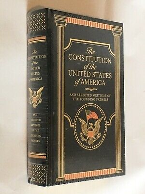 The Constitution of the United States America Leather Bound Sealed New