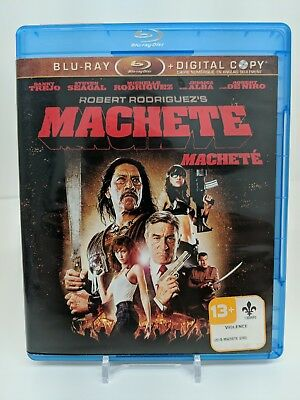 Machete Blu-ray Disc 2-Disc Set Bilingual Bluray