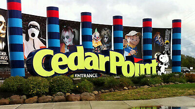 (4) Four Tickets to Cedar Point Halloweekends / Fast Shipping / Low Price