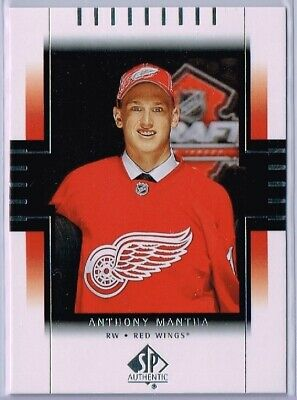 Anthony Mantha  18-19 Upper Deck Sp Authentic Retro Draft Pick