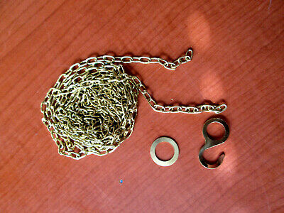 "New Old Stock Cuckoo Clock Weight Chain  64""   61 LPF.   (519E)"