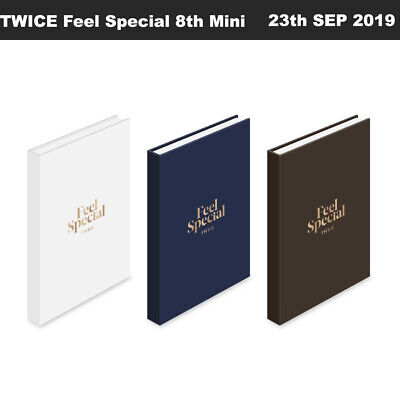 TWICE Feel Special 8th Mini Album CD+Photobook+Lyricspaper+Photocard+Etc+Track#
