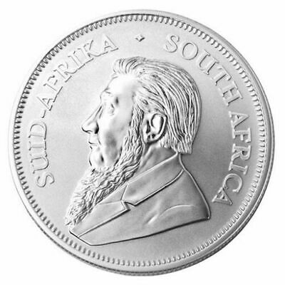 2018 South Africa 1 oz Silver Krugerrand BU SKU#170332