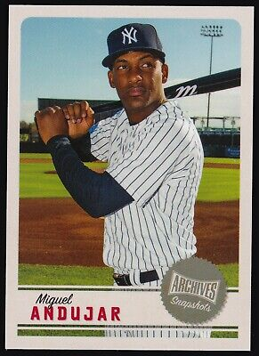 2019 Topps Archives Snapshots #AS-MA Miguel Andujar New York Yankees