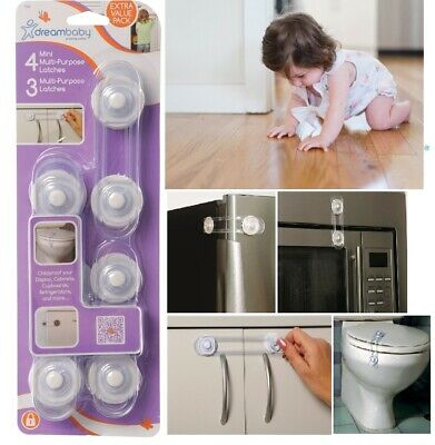 Dreambaby Door Stopper Finger Pinch Guard 2 pack Child Toddler Safety L1172