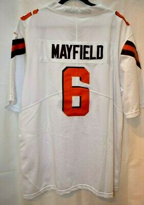 separation shoes 73edc 53b58 BAKER MAYFIELD #6 Cleveland Browns Mens Black Jersey ...