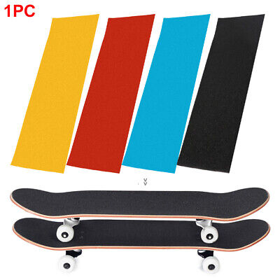 Anti-slip Grip Tape Skateboards Sandpaper Deck No Bubbles Parts Perforated Rough