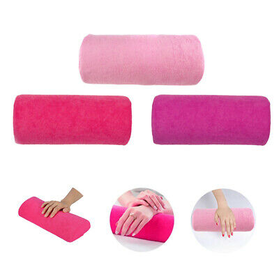 Soft Hand Rest Cushion Pillow Nail Art Manicure Makeup Cosmetic Washable UK