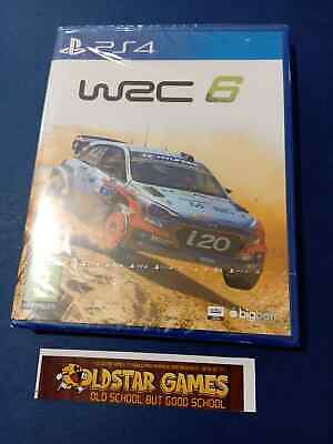 WRC 6 PS4 Playstation 4 *Neuf* *New*