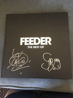 Feeder - The Best Of Numbered Ltd Ed Vinyl Box Set Hand Signed Autographed