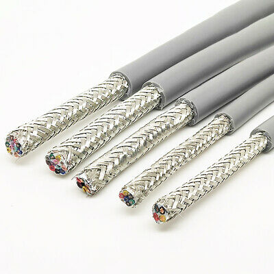 16 Core Flexible Cable Wire Double Shielded Twisted Braided Automotive Marine