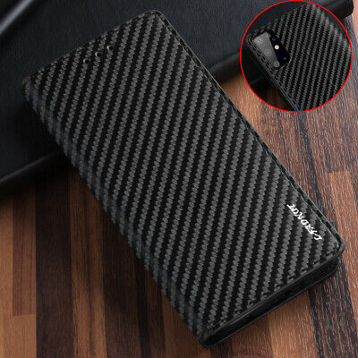 For Samsung Note 10 Plus 5G S10 S9 Plus Leather Flip Case Wallet Magnetic Cover