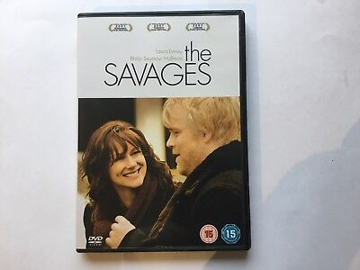 The Savages 2008 Laura Linney & Philip Seymour Hoffman Comedy Dvd