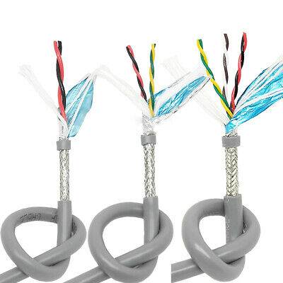 24 Core Flexible Cable Wire Double Shielded Twisted Braided Automotive Marine