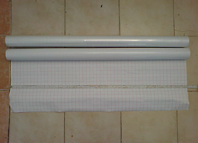 Self Adhesive Clear Sticky Back Plastic Vinyl - Various Lengths & Sizes - Fablon