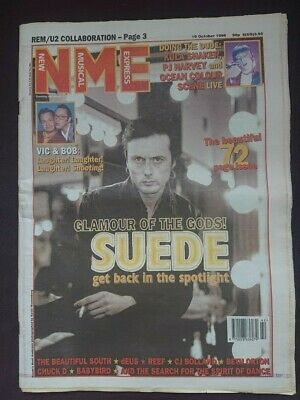 Nme - 19 October 1996 - Suede Pj Harvey Beth Orton Babybird Beautiful South