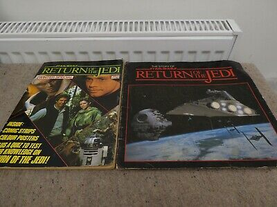 Return Of The Jedi Star Wars Story Book And Winter Special Comic