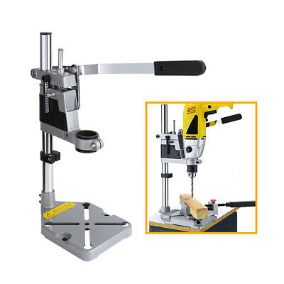 Plunge Drill Stand Drill Bench Press Stand Tool Workbench Pillar Pedestal Clamp