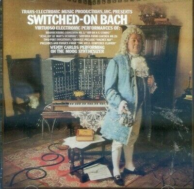 WENDY CARLOS - Switched-On Bach ( AUDIO CD IN JEWEL CASE )