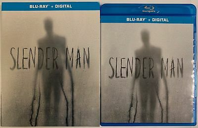 Slender Man Blu Ray + Slipcover Sleeve Free Worldwide Shipping Horror