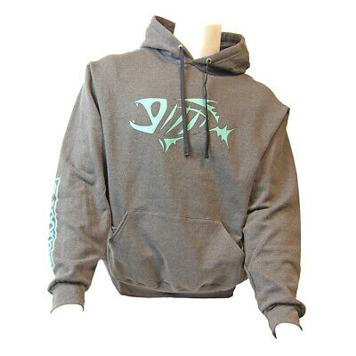 Details about Shimano Lifestyle Hooded Pullover Sweatshirt Black (Select Size)