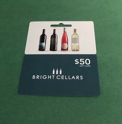 Bright Cellars $50 Gift Card Credit - US ONLY - Read Description
