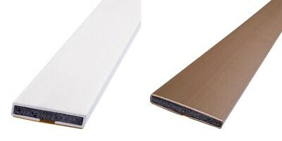 Pack of Self Adhesive Intumescent Fire Door Seal Strips All Sizes White or Brown