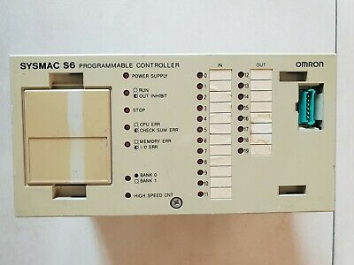 Omron Programmable Controller Sysmac S6 3G2S6-Cpu15 3G2S6Cpu15