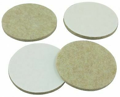 1000 x 3.8 mm Felt Bumps for Picture frames etc protects wall straight picture