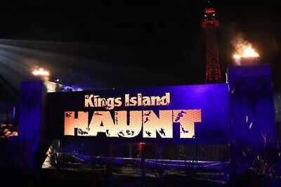 (4) Four Tickets to Kings Island Halloween Haunt / Fast Shipping / Low Price