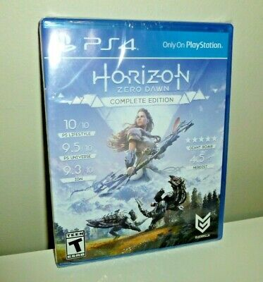 Horizon: Zero Dawn - Complete Edition Sony PlayStation 4 PS4 new factory sealed