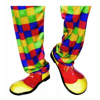 Deluxe Clown Shoes Adult Halloween Fancy Dress Costume Accessory