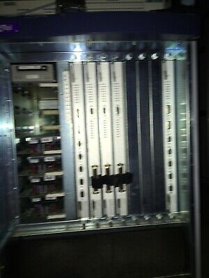 Octel Model A250 8-Port Phone Voicemail Fax Server System Cabinet w/ Modules