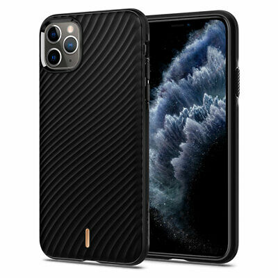 iPhone 11, 11 Pro, 11 Pro Max Case | Ciel [Wave Shell] Protective Black Cover