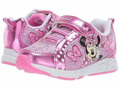 NEW Disney Minnie Mouse Toddler Girl's Sneaker,light up size: 7 8 9 10 11 12