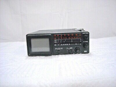 Realistic Portavision Micro-TV AM/FM Radio VHF/UHF TV