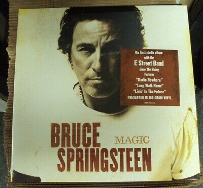 BRUCE SPRINGSTEEN Magic LP SEALED late-00's pop-rock E Street Band