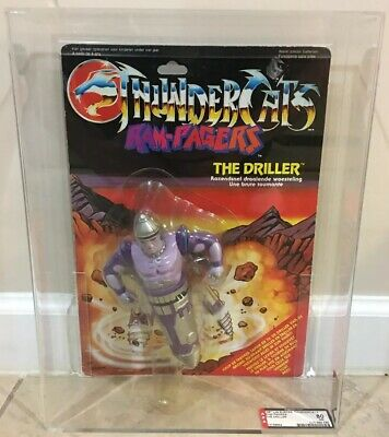 Ljn Thundercats Ram-Pagers The Driller Afa 80 Nm Action Figure Vhtf
