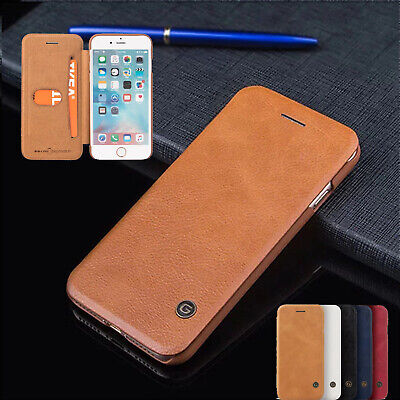 For Samsung Galaxy S10/S9/S8/Note 10 Genuine G-case Slim Leather Case Flip Cover
