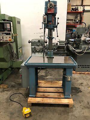 """POWERMATIC #1200 20"""" Drill Press on Production Base & Tapping #GMT-2023"""