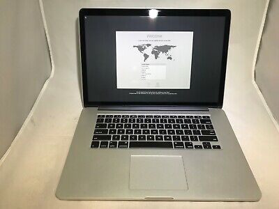 MacBook Pro 15 Retina Mid 2015 MJLQ2LL/A 2.2GHz i7 16GB 256GB - Fair