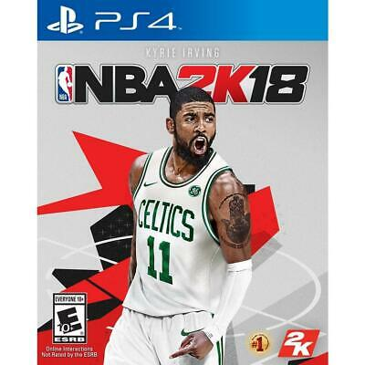 NBA 2K18: PlayStation 4 AND Xbox One Standard Edition BRAND NEW & FACTORY SEALED