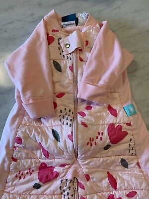 ergoPouch Girls Sleeping Suit/Bag with arms and transitional legs - Tog 2.5