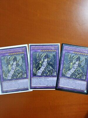 Yugioh Thunder Dragon Colossus OP10-EN001 Ultimate Rare Near Mint!